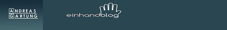 Einhandblog - Leben mit einer Hand